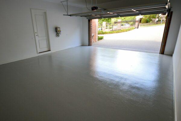 epoxy garage gulv