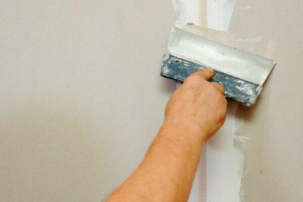 Spartling af vægge og loft